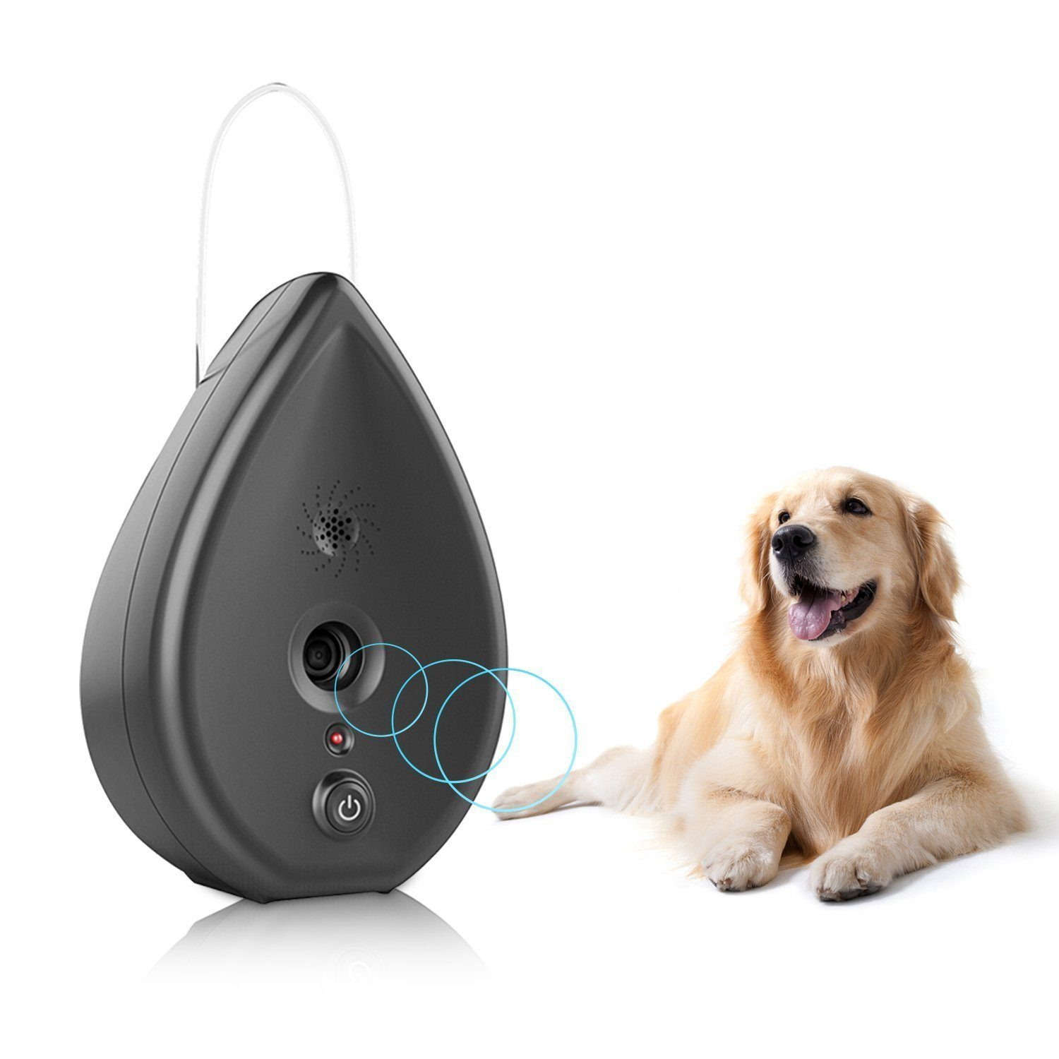 dog_barking_control_devices_BIG DEAL Automatic Ultrasonic Modus Indoor Bark Control Anti Barking Device in Water Droplet Shape