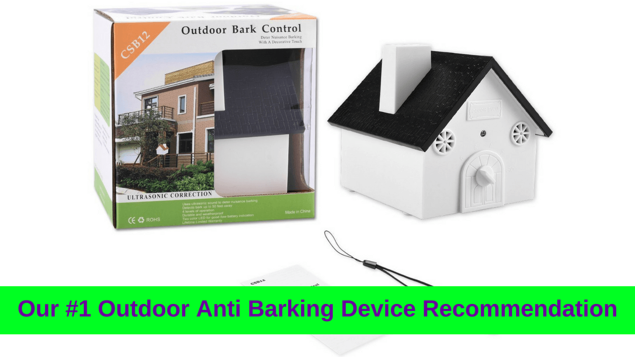 Kcsc Outdoor Ultrasonic Dog Barking Control Device Review